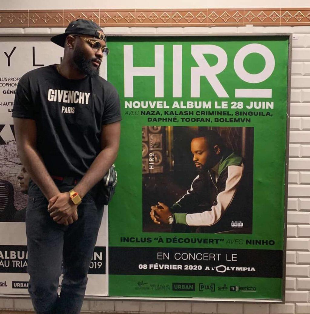 """Photo de HIRO DÉVOILE """"ERRATUM"""" SON NOUVEL ALBUM !"""