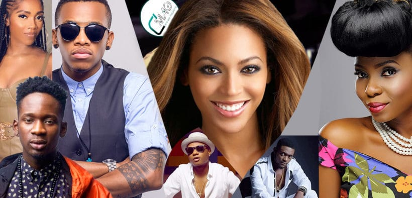 Béyonce- artistes Africains-The Lion King, the gift-album
