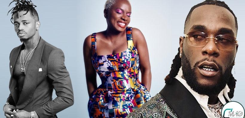 top 10 des artistes Africain