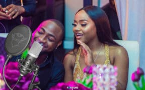 Davido sweet in the middle-chioma