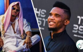 Eto'o et Diamond platnumz-academie de football