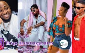 Les artistes Africains les plus populaires sur instagram