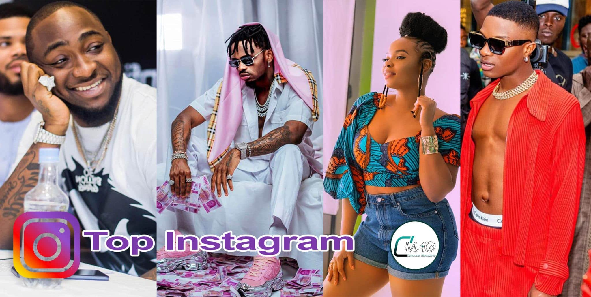 Photo de LES ARTISTES AFRICAINS LES PLUS POPULAIRES SUR INSTAGRAM EN 2020 TOP 10