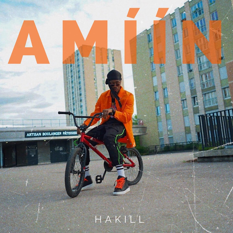 """Photo de HAKILL PLUS SOLITAIRE QUE JAMAIS DANS SON NOUVEAU SINGLE """"AMIIN"""""""