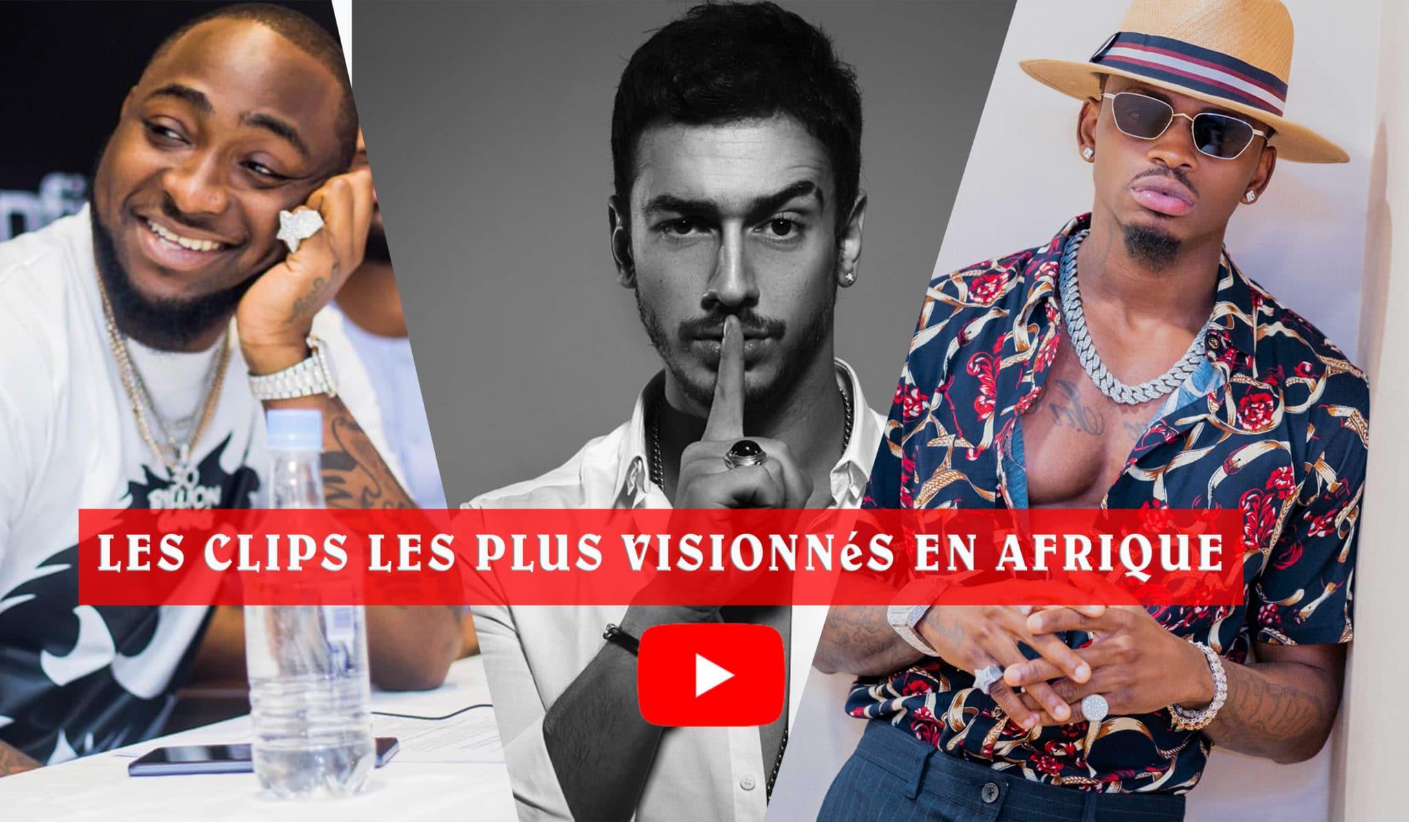 Classement des meilleurs clips africains sur youtube